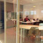 Salle de réunion Montrouge Vue sur l'espace café - Bureaux et coworking à Montrouge 92