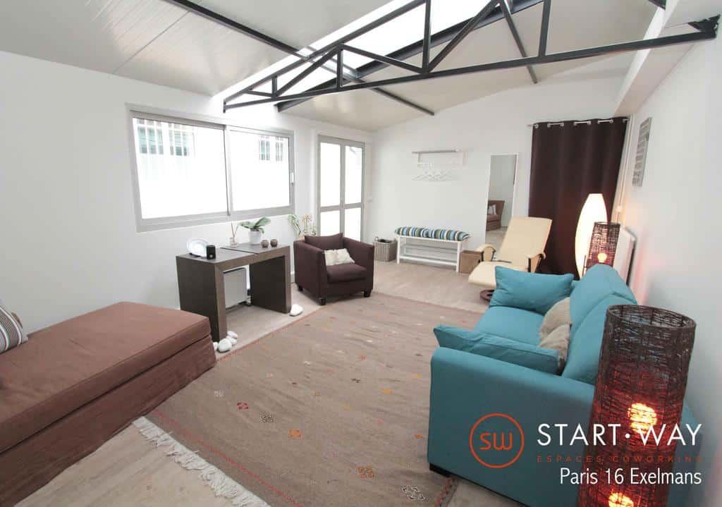 sw bureaux et co working paris auteuil 16 me. Black Bedroom Furniture Sets. Home Design Ideas