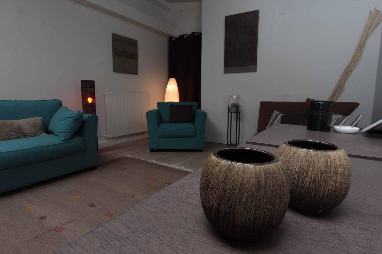 Salle de repos et de relaxation située dans le 16ème arrondissement de Paris