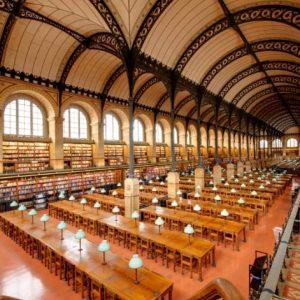 la bibliothèque du monastère premier espace de coworking
