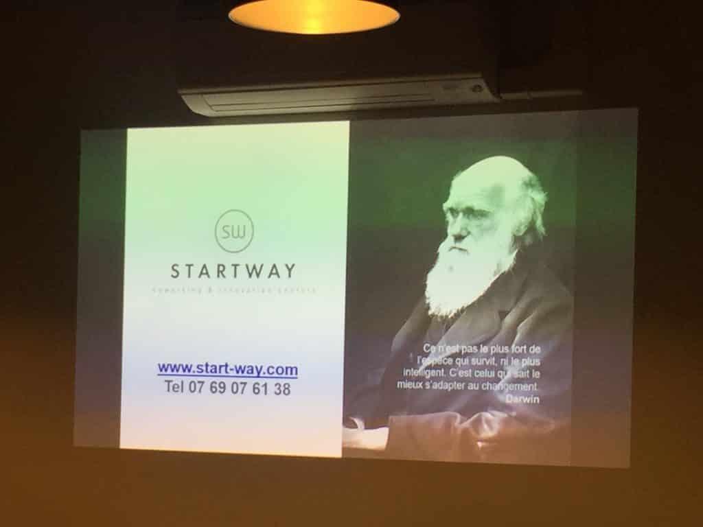 L'approche Darwinienne des espaces de coworking Startway