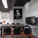 Salle de réunion à Paris 16 espace de coworking à Paris 16 et centre d'affaires à Paris - salle de réunion, domiciliation pour start-up, entrepreneurs, télétravailleurs, salariés de grands groupes, freelance