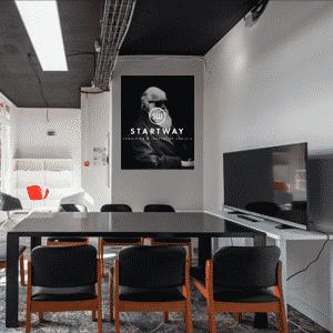 espace de coworking à Paris 16 et centre d'affaires à Paris - salle de réunion, domiciliation pour start-up, entrepreneurs, télétravailleurs, salariés de grands groupes, freelance