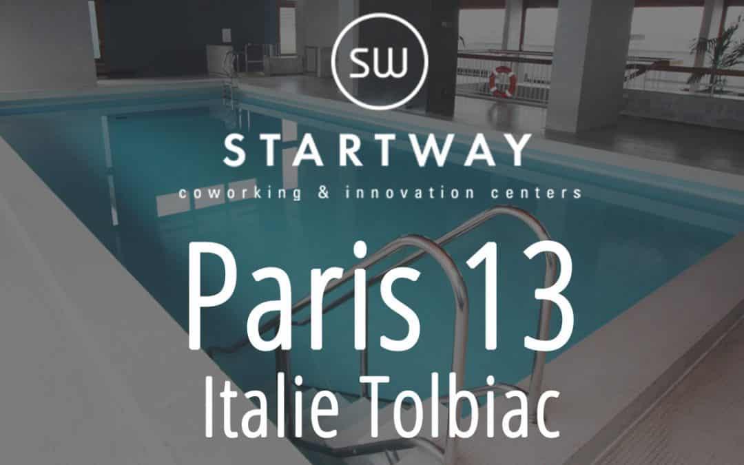 Coworking à Paris 13 Tolbiac Italie