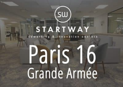 Espace de coworking et centre d'affaires à Paris 16 Grande Armée salle de réunion domiciliation