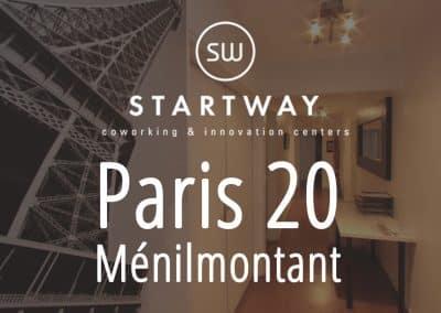 Espace de coworking et centre d'affaires à Paris 20 salle de réunion domiciliation