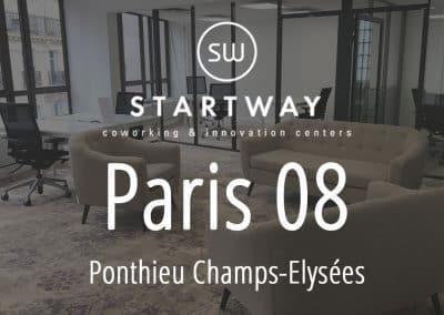 Espace de coworking et centre d'affaires à Paris 8 champs Elysées salle de réunion domiciliation