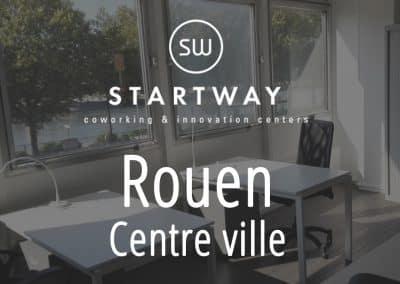 espace de coworking à Rouen centre d'affaires bureaux à louer domiciliation