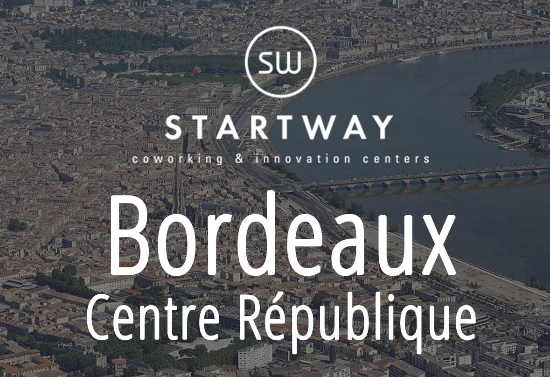 espace de coworking à Bordeaux - Startway centre d'affaires collaboratif et salle de réunion
