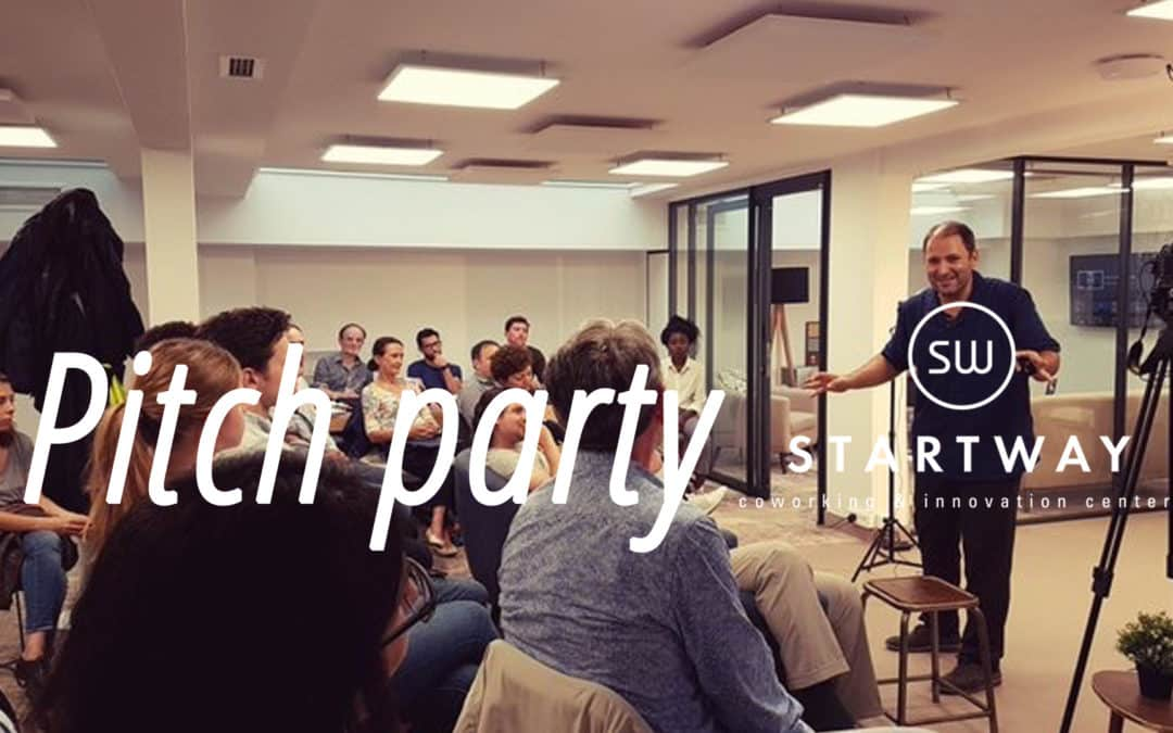 Pitch Parties à l'espace de coworking Paris 8