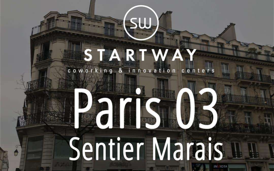 Coworking à Paris 3 Sentier Marais