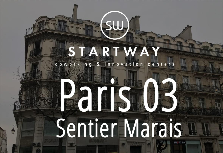 centre d'affaires et espace de coworking à Paris dans le quartier du sentier Marais