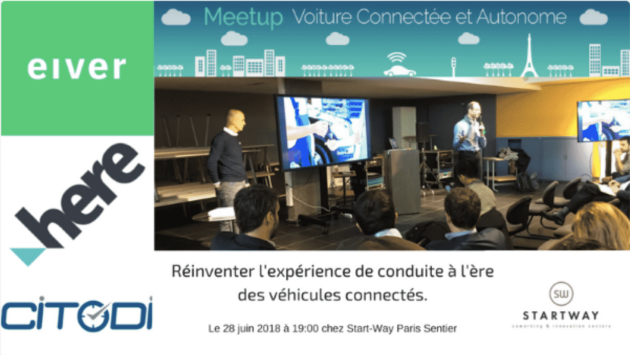 Meetup one point et startway coworking Paris Sentier