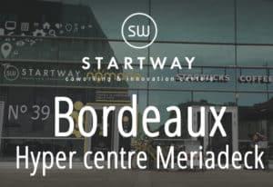espace de coworking à Bordeaux Meriadeck