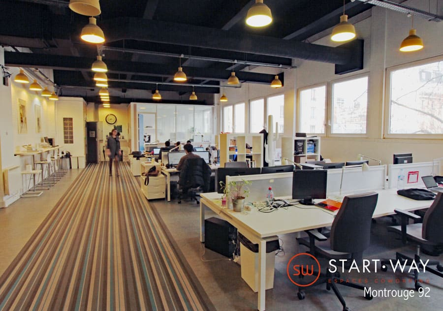 Start-Way Montrouge | Les bureaux et l'espace de coworking de Montrouge obtiennent le Label C3