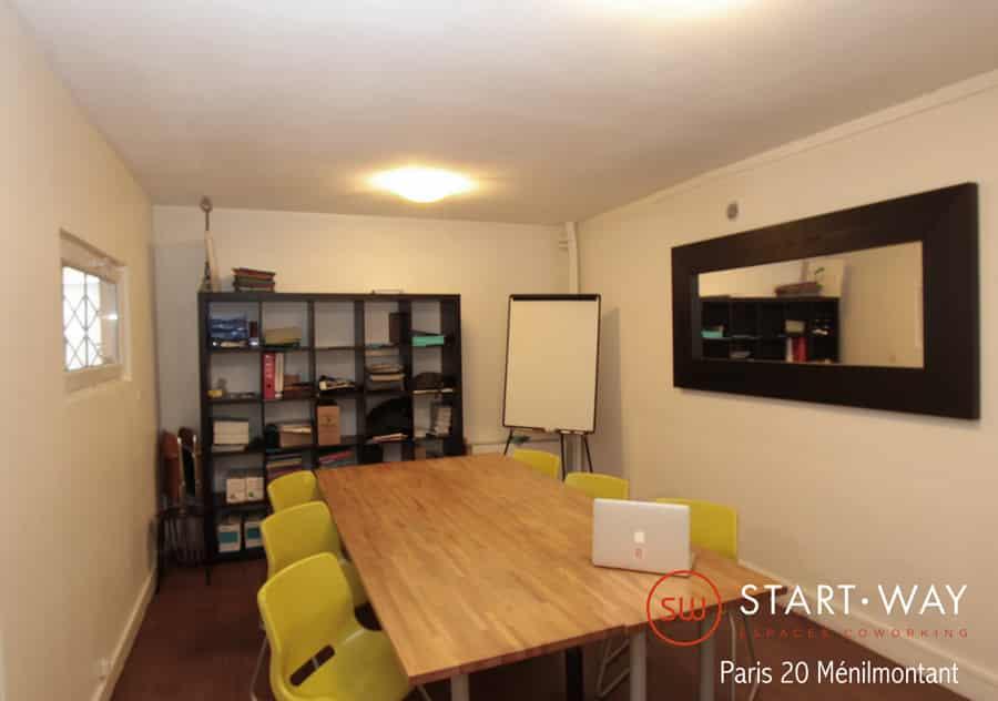 Start-way - salle de réunion Bureaux et espaces de Coworking à Paris 20 Ménilmontant