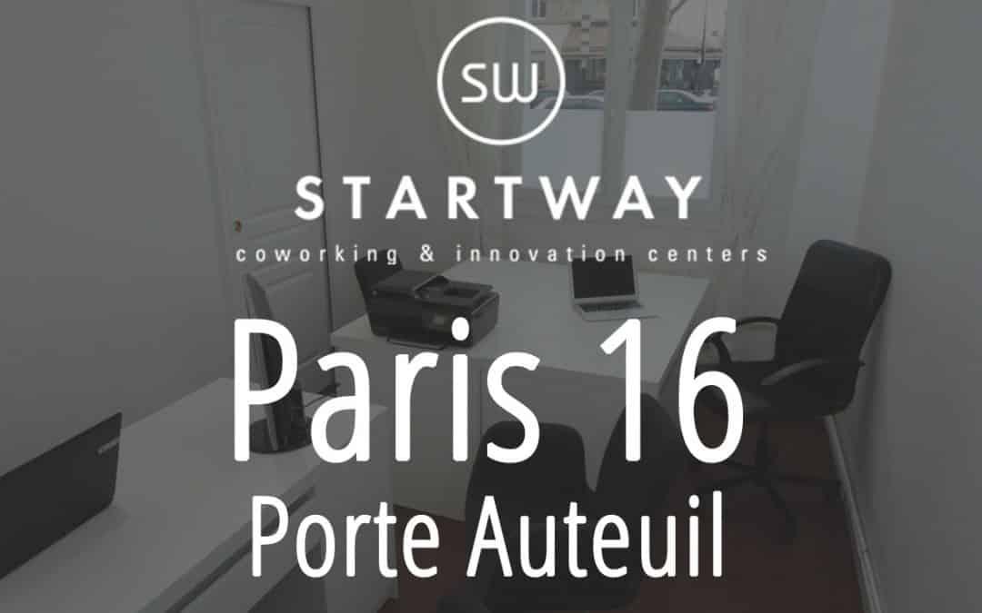 Coworking à Paris 16 Auteuil