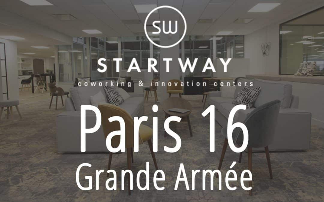 Coworking à Paris 16 Grande Armée – Porte Maillot