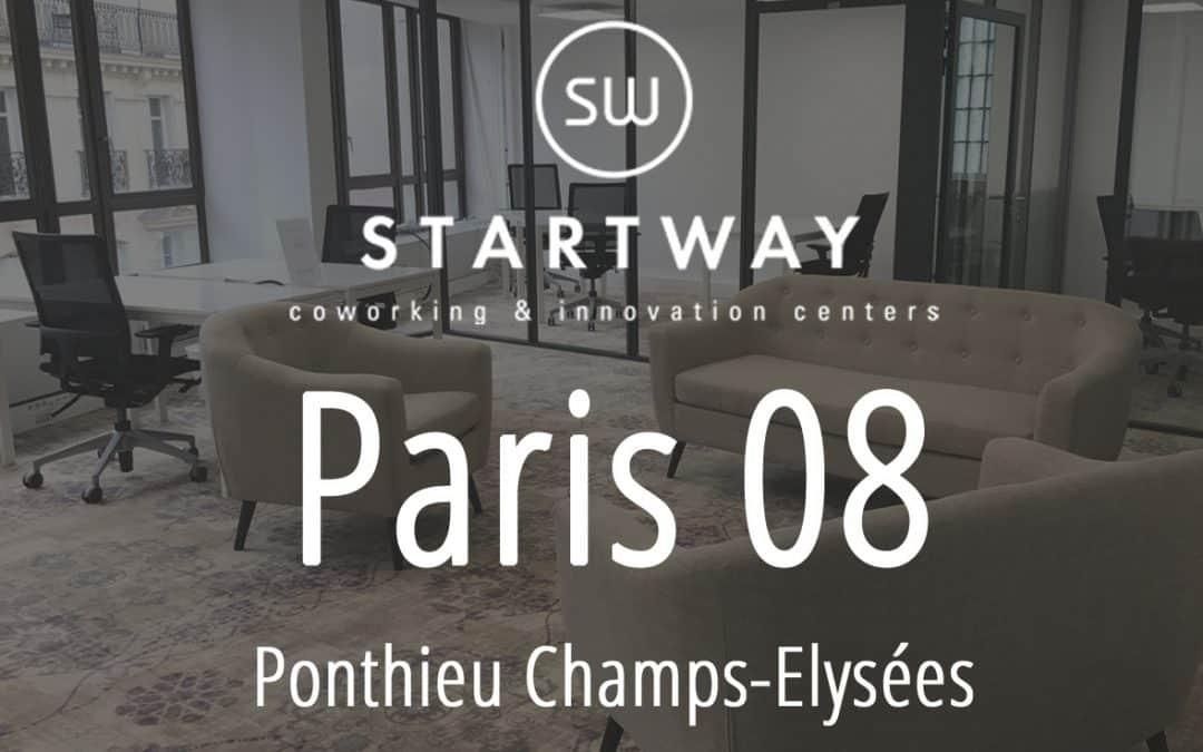 Coworking à Paris 8 – Ponthieu Champs Elysées
