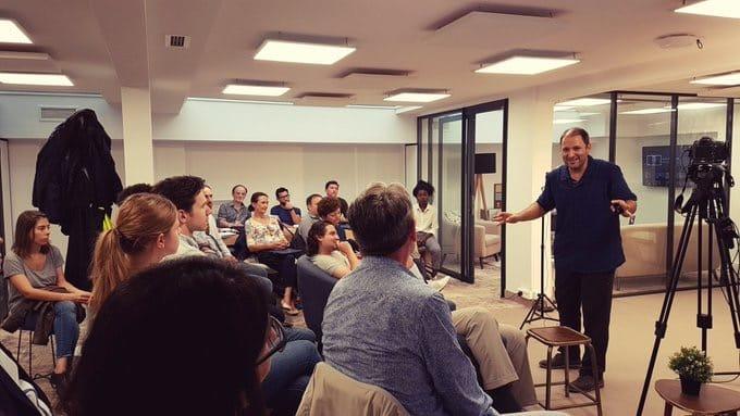 Espace de coworking et réunion à Paris 8