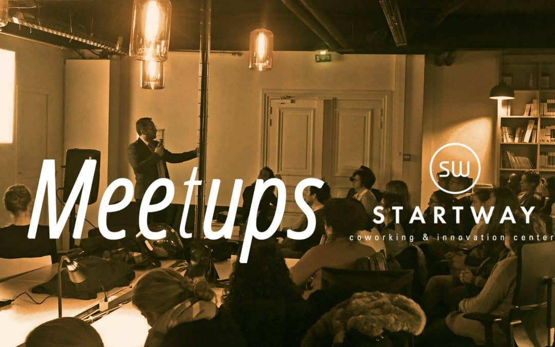 Meet-up à l'espace de coworking Startway Grande Armée animé par Marcel Botton