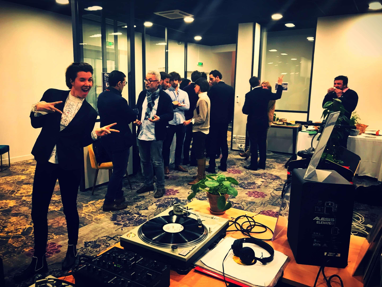 Inauguration de l'espace de coworking Bordeaux centre ville