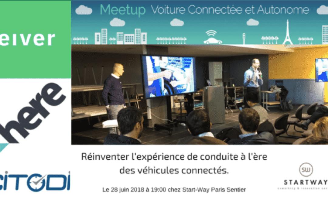 Meetup OnePoint Voiture connecte et autonome