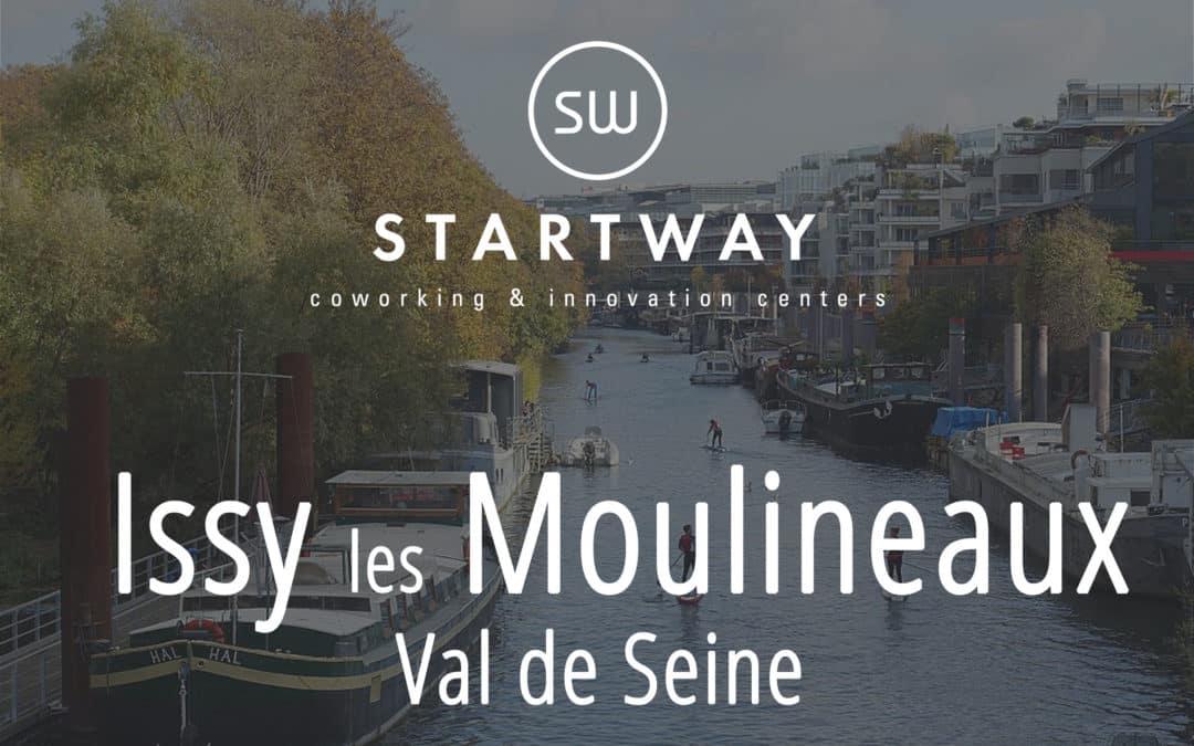 Ouverture du 25ème espace de coworking à Issy-les-Moulineaux