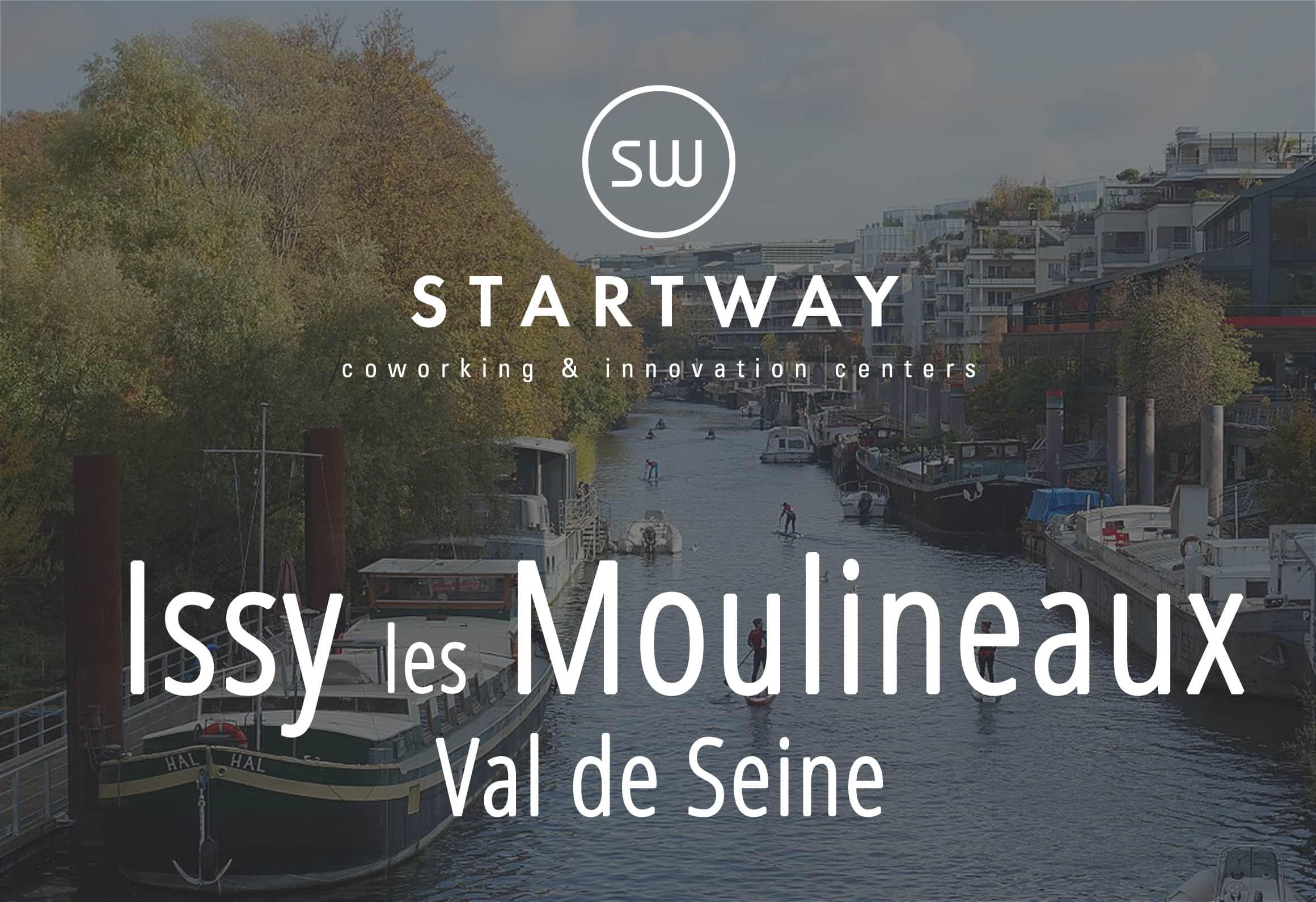 Centre d'affaires et coworking à Issy les Moulineaux Val de Seine