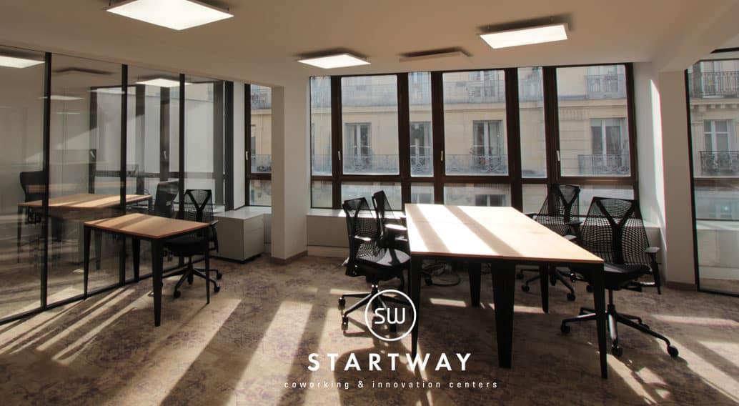 espace de coworking Paris 8 Bureaux à louer