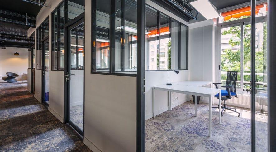 Espace de coworking Paris 16 bureaux