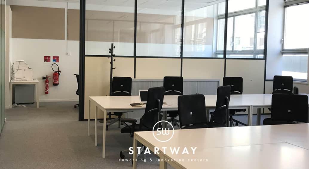 centre d'affaires Paris 17 bureaux à louer