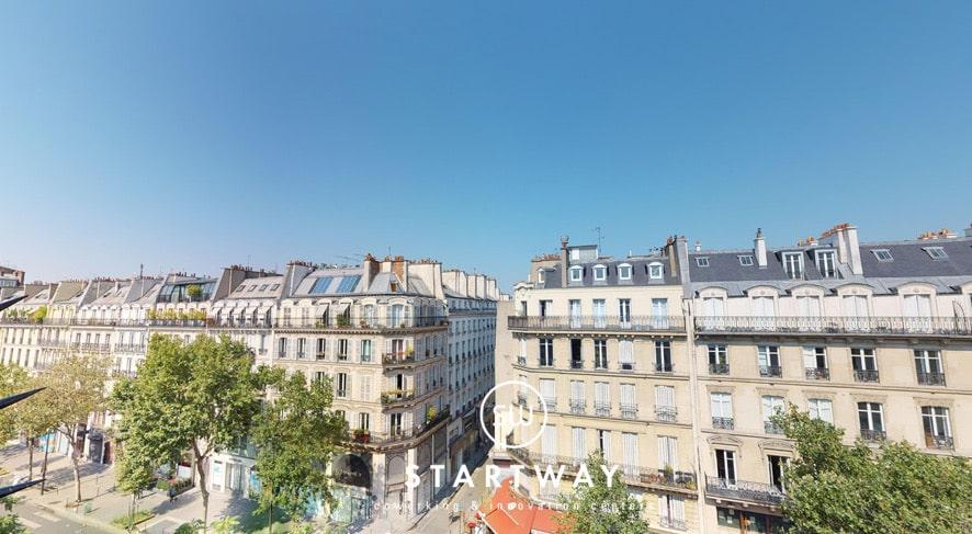 Espace de coworking Paris 3ème arrondissement bureau à louer