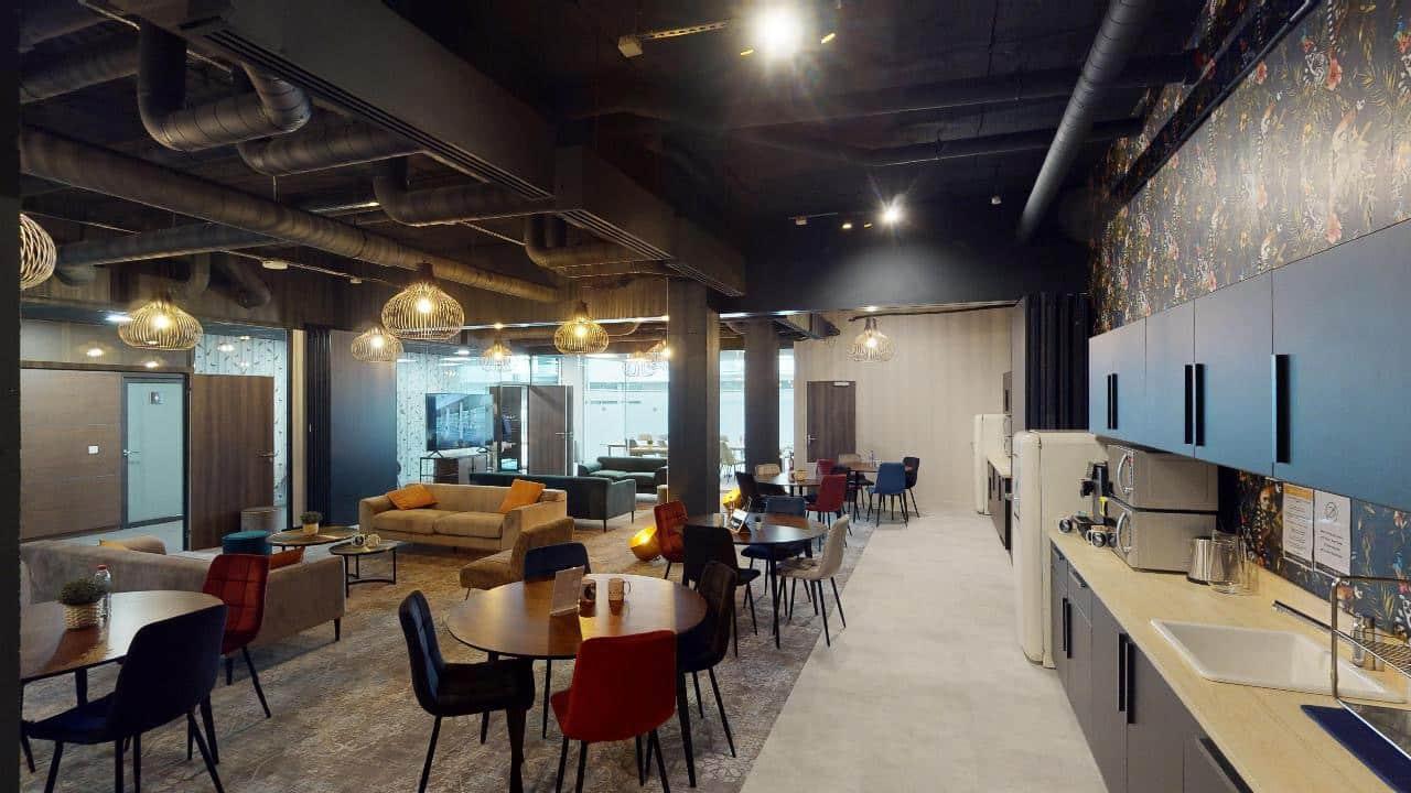 Salle de créativité et de réunion à Lille
