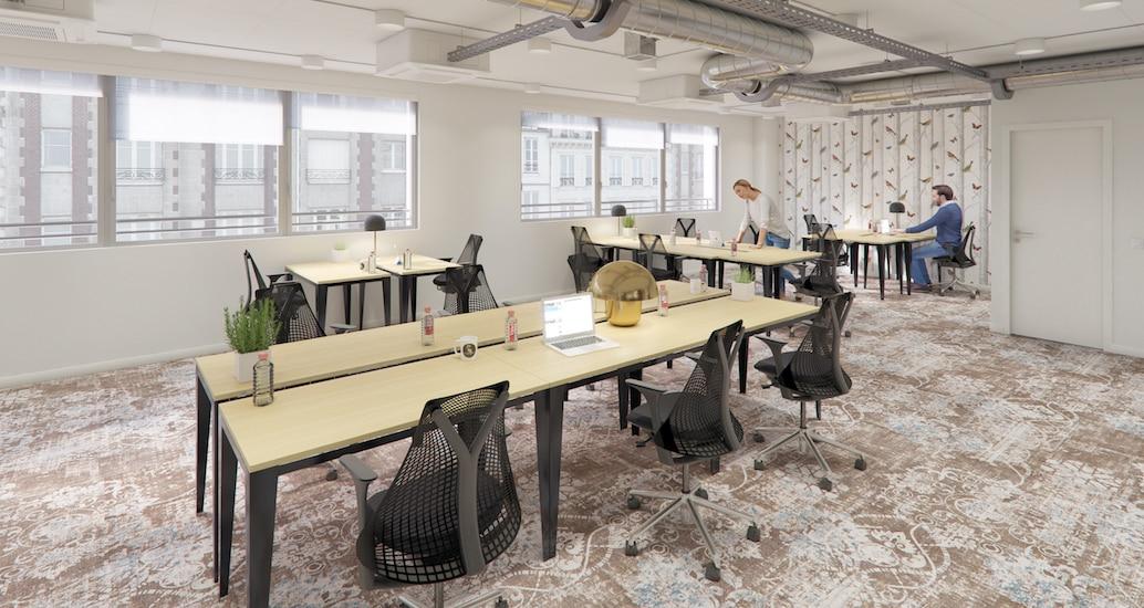 Espace de coworking à Paris Montparnasse
