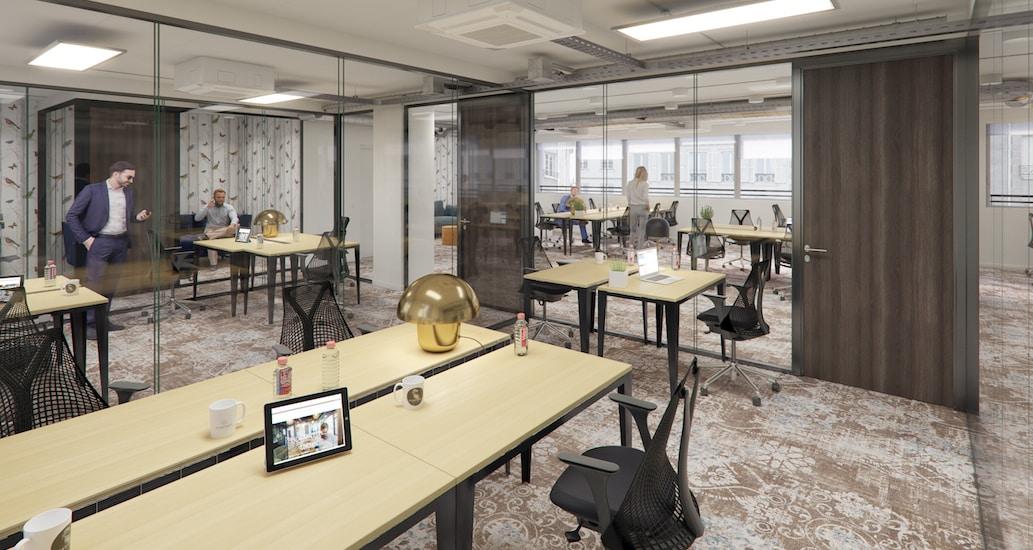 centre d'affaires et espace de coworking à Paris GAre Montparnasse