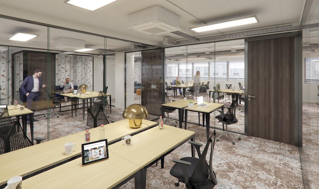 Bureaux et salles de réunion à Paris Gare Montparnasse