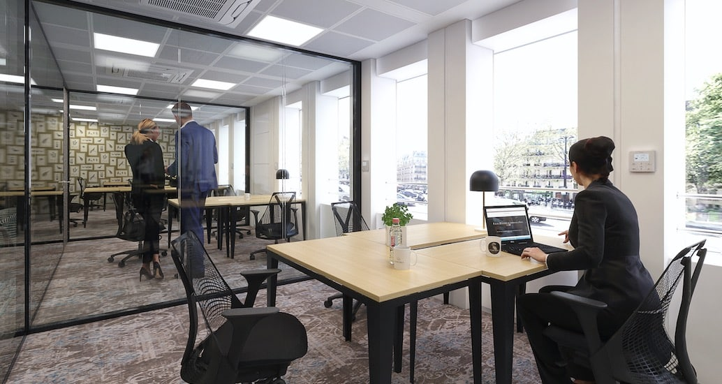 espace de coworking à Paris Grande Armée Porte Maillot Neuilly sur seine Centre d'affaires