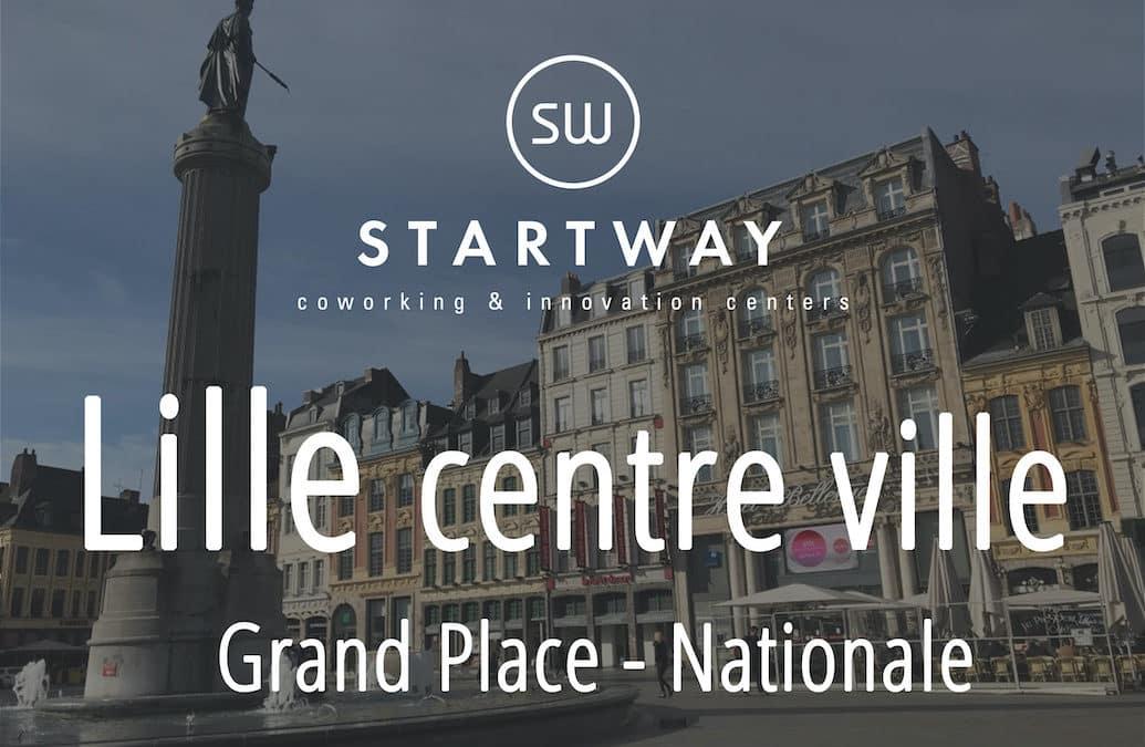 Domiciliation à Lille Grand Place
