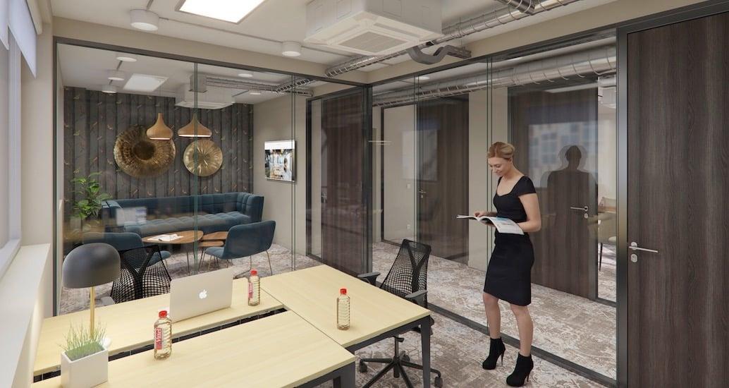 location de bureaux à Nice à l'espace de coworking Startway