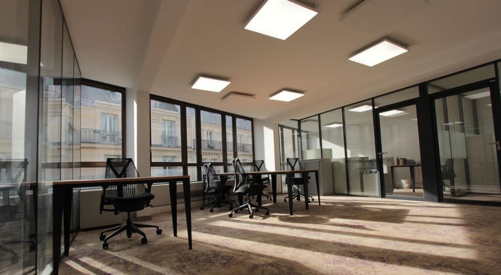 location de bureaux à Paris 8