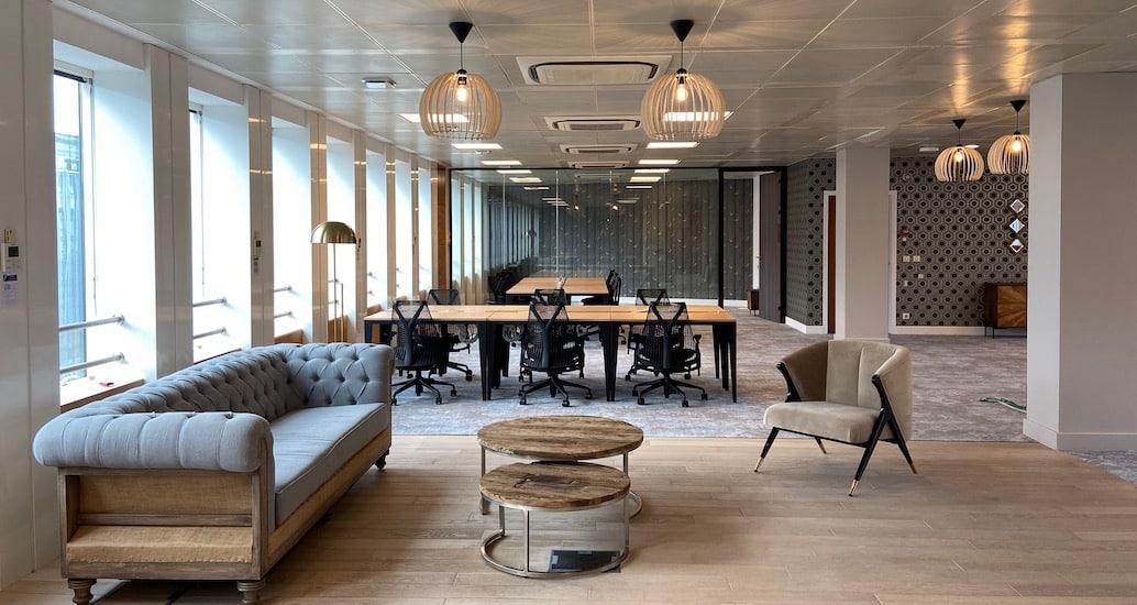 Location de bureaux coworking Paris Grande Armée