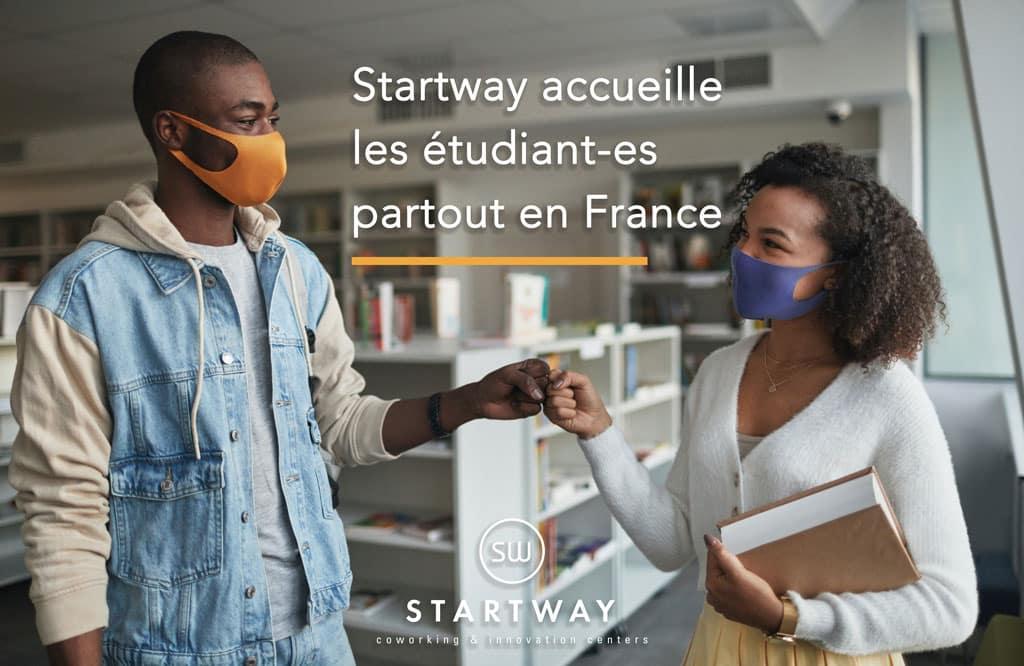 Les espaces de coworking Starway ouvrent leurs portes aux étudiants
