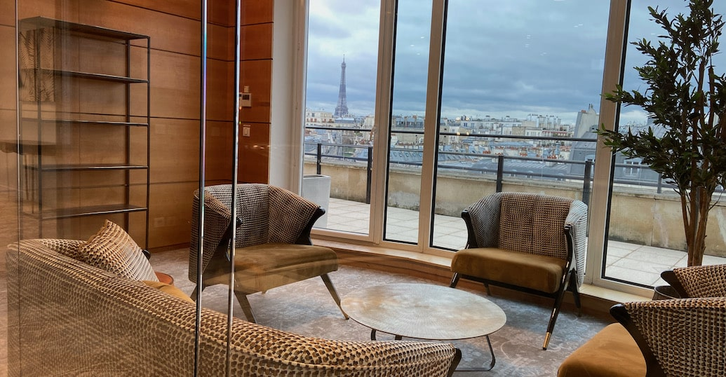 lounge coworking Porte Maillot Neuilly