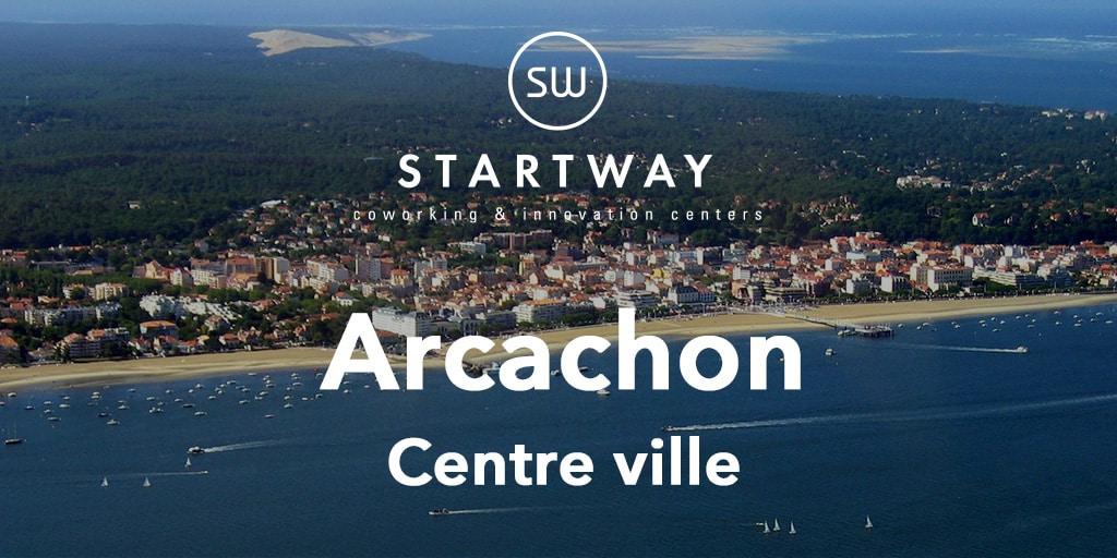 Coworking à Arcachon : Startway ouvre son 35ᵉ espace face à la gare