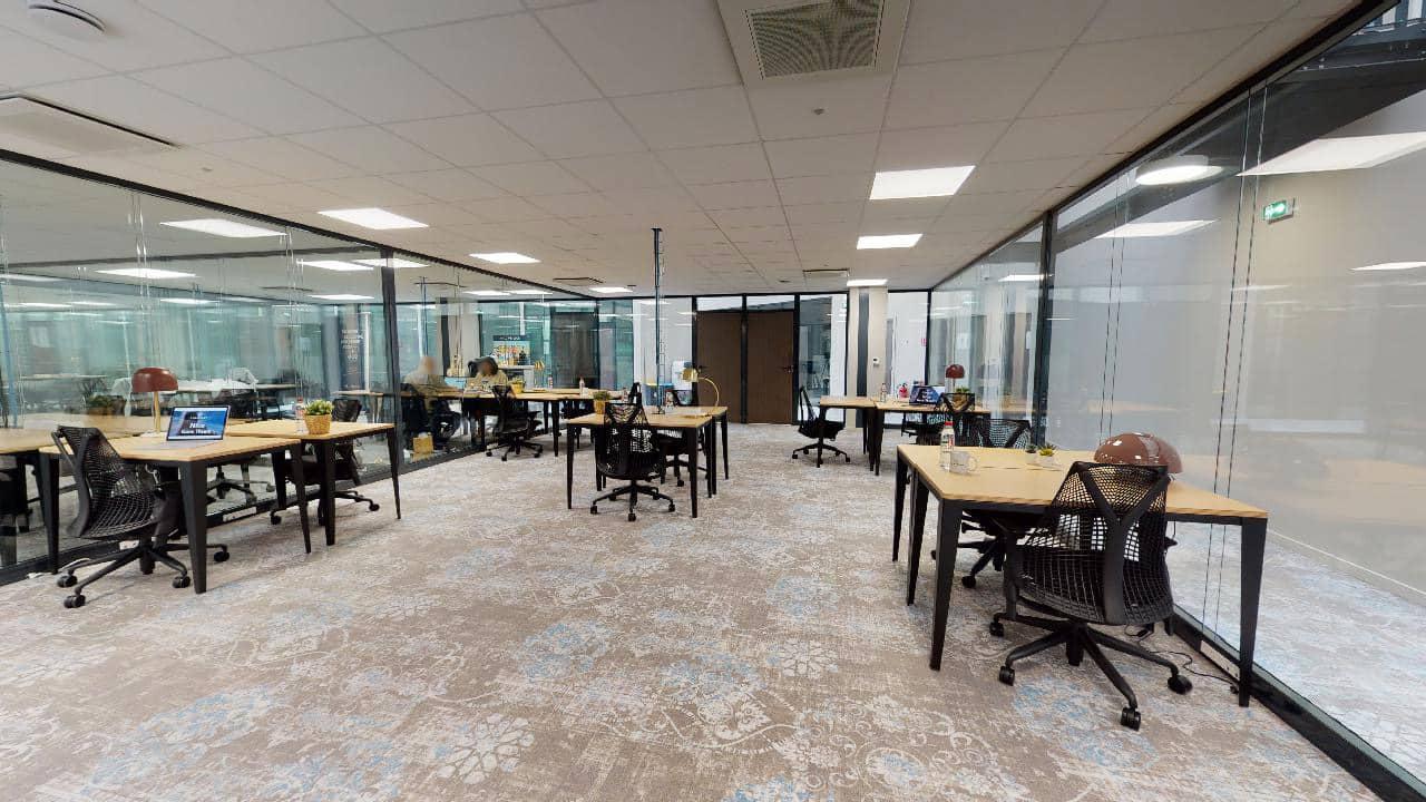 Espace de coworking à Nice Gare - bureaux à louer