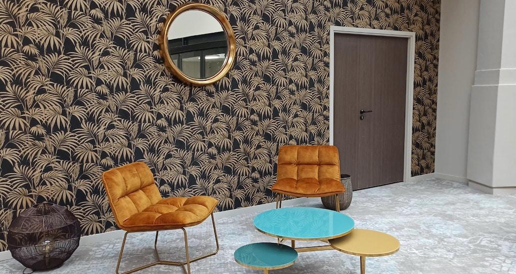 Lounge espace de télétravail à Nice flex office