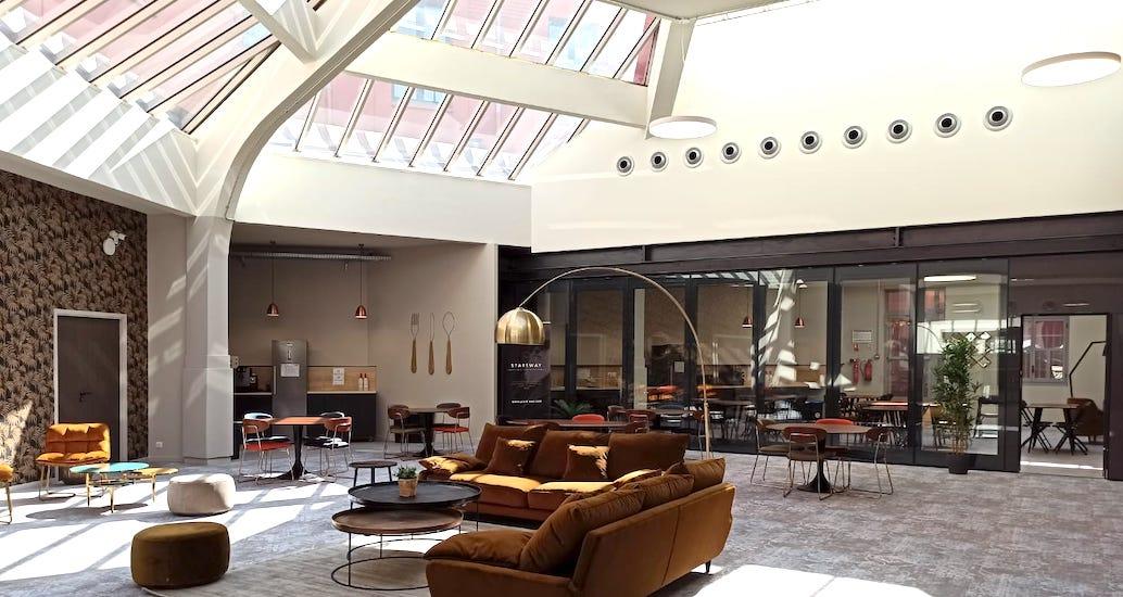 espace de coworking à Nice centre d'affaires