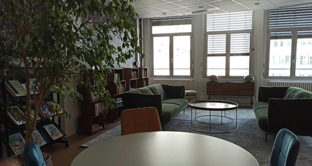 Espace de coworking à Strasbourg centre ville - bureaux
