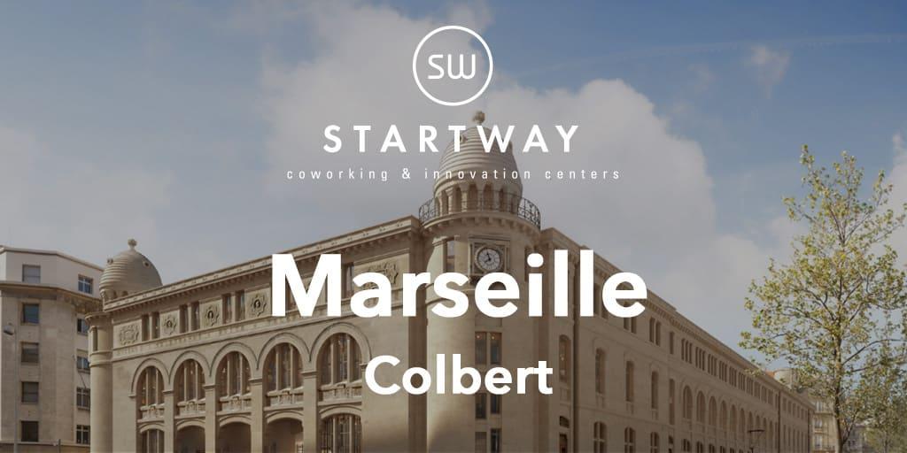 Espace de Coworking à Marseille Colbert - Centre d'affaires, bureaux